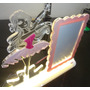 Luminária Acrílico Personalizado 6mm Com Led+foto Bailarina