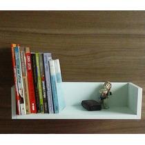 Prateleira Decorativa Para Livros Em U (45 L X 17 P X 11 A)