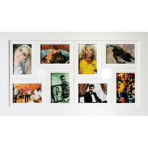 Porta Retrato Varias Fotos Quadro Painel Com Vidro P/ Parede