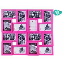 Mural Quadri 16 Fotos - Pink - Uatt