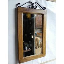 Moldura Rústica Para Espelho, Madeira, Demolição