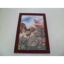 Porta Retrato Quadro De Madeira 20x30