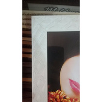 Moldura Porta Retrato P/ Foto 20x25 - Madeira E Vidro