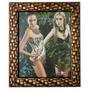 Porta Retrato 20x25 Com Vidro Mais Moldura De Madeira Barato