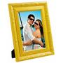 Porta Retrato Em Madeira E Gesso - Diversas Cores - 15x21