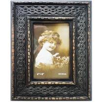 Quadro Porta Retrato Foto 10x15 Moldura De Madeira Com Vidro