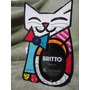 Romero Britto Porta Retrato Cat Fun Para 01 Namorado/a
