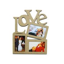 Porta Retrato Painel Love Decoração P/ Fotos 10x15 38cm
