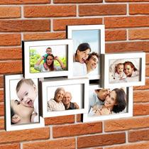 Painel Porta Retrato De Parede, 6 Fotos 10x15 - Tam 47x32.cm