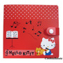 Capa Porta Cd Dvd Hello Kitty P/ 12 Case - Original Sanrio