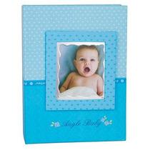 Álbum P/100 Fotos 10x15 Modelo Bebe Azul E Rosa.