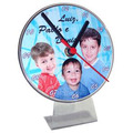 50 Relógios Acrílico Tipo Cd Personalizados Tema Festa Logo