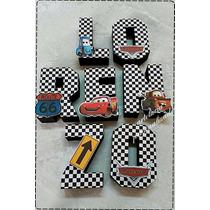 Mcqueen-carros-letras 3d -artelucia Personalizados