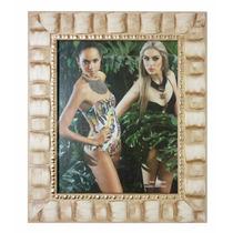 Porta Retrato 20x25 Com Vidro Para Fotos Com Moldura Relevo