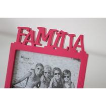 Porta Retrato Familia Colorido 10x15 Lindo Presente
