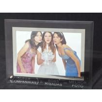 Porta Retrato Vidro Frizo Espelhado 10x15 - Amigos / Amizade