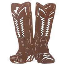 Placa De Ferro Boots Importado