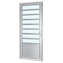 Porta Sasazaki Alumifort Em Alumínio Com Divisão