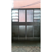 Porta Balcão De Alumínio Usada
