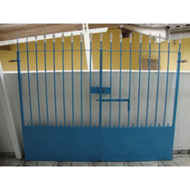Portao De Ferro Completo - 1.82 X 2.17 Mt - Sp - Garagem