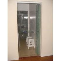 Porta Camarão Em Vidro Temperado 8 Mm Completo E Instalado