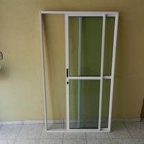 Porta Sacada 2.fls De Alum 2.10 X 1.20 Branca L-25