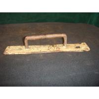 Puxador Antigo Em Ferro P/ Portas - Modelo Raro