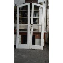 Porta Balcão Antiga De Madeira. Para Retirar Med 1.20x2.10