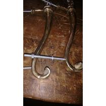 Puxador De Porta Antigo Em Bronze