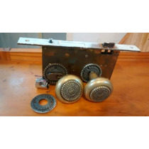 Fechaduras Antigas De Bronze Interna E Externa Com Espelho