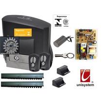Kit Portão Eletrônico Veloz Price 1/5 Hp Unisystem 220 Volts