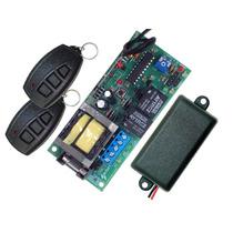Central P/ Motor De Portão Eletrônico +2 Controles +1 Tx Car