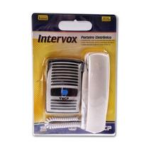 Kit Interfone Residencial Porteiro Eletrônico Intervox Ecp !