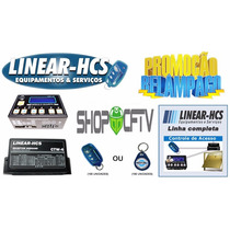 Kit Linear Hcs Controle De Acesso Mod Guarita+recepetor+cont