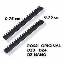 Cremalheira Rossi Para Dz3 Dz4 Dz Nano - 2 Barras De 0,75 Cm