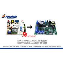 Central Placa Peccinin Original 433 P/ Motor Portão Cp 3020n