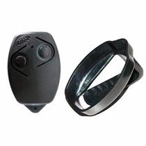 Controle Remoto P/ Portão Eletrônico Rossi 433 Hcs + Suporte