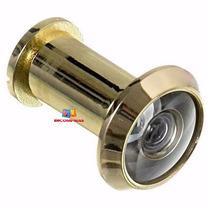 Visor Para Porta Olho Mágico Dourado 200º Diâmetro 16mm