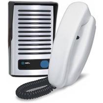 Interfone Porteiro Eletrônico F8 Nt C/ Monofone Az01 Hdl