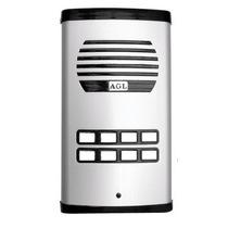 Kit Interfone Agl 8 Pontos + 7 Fones E Fechadura 12 Volts
