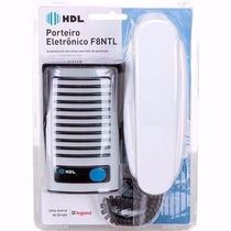 Interfone Hdl Porteiro Eletrônico F8 Ntl + Monofone Az01