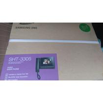 Video Porteiro Sansung Sht3305 Monitor Color Widescreelcd4,3