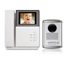 1 Em 1 Interfone Color Monitor Câmara