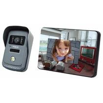 Vídeo Porteiro Eletrônico Interfone Camêra Monitor Lcd