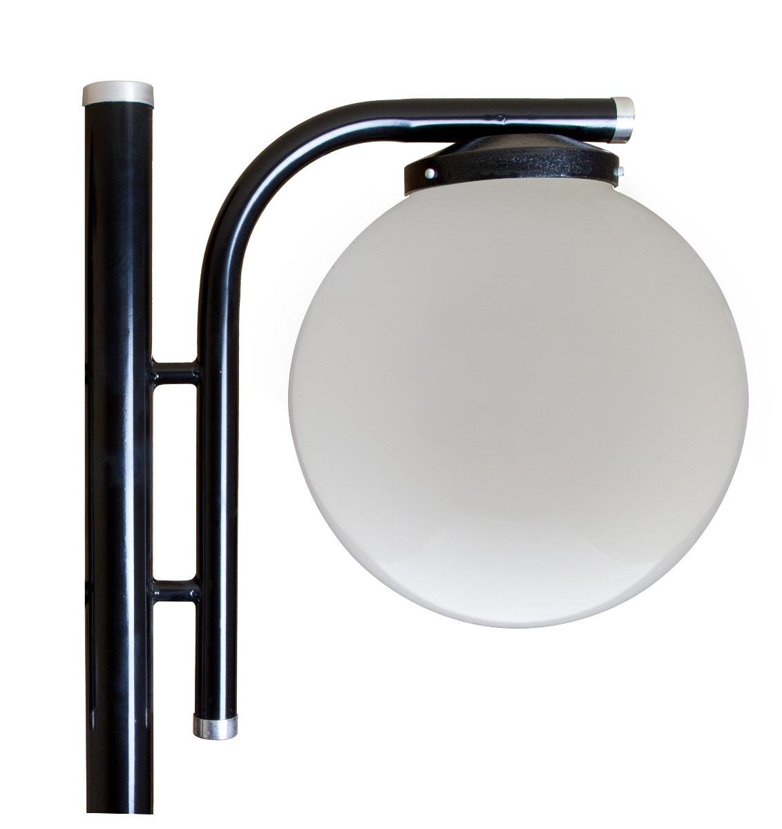 iluminacao de jardim tipos : iluminacao de jardim tipos:Poste De Iluminação Para Jardim P/ 2 Lampadas Com 2,5 Metros – R$