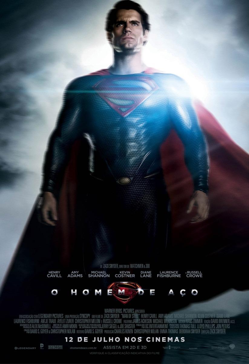 Poster em papel foto do filme o homem de a 195 167 o superman r 70 00 no