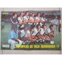 Poster Placar Vasco Bicampeão Da Taça Guanabara 1977 Futebol