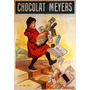 Chocolate Meyers Acidente Escada Paris França Poster Repro