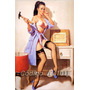 Pin Up Art Print - Poster Formato 31x44 Cm - Cód. A101