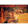 Excursão Marrocos Cavalo Hotel Figari Vintage Poster Repro